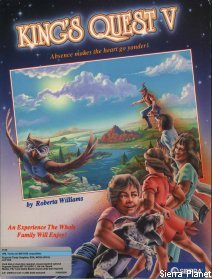 King's Quest 5 Box Art 1