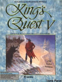 King's Quest 5 Box Art 2